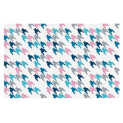 Project M Tooth Doormat Color: Pink
