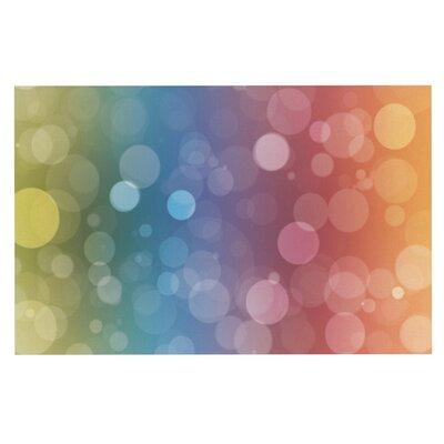 Prism Rainbow Bokeh Doormat