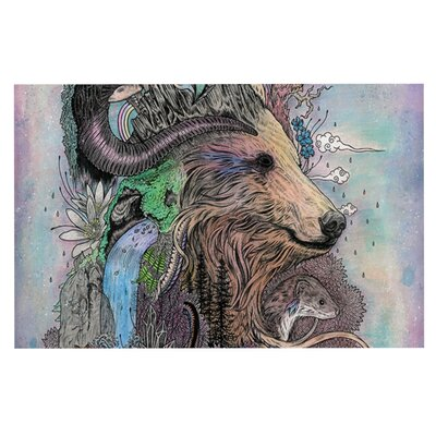 Mat Miller Forest Warden Bear Nature Doormat
