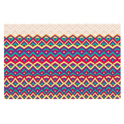 Pom Graphic Design Horizons Doormat Color: Orange