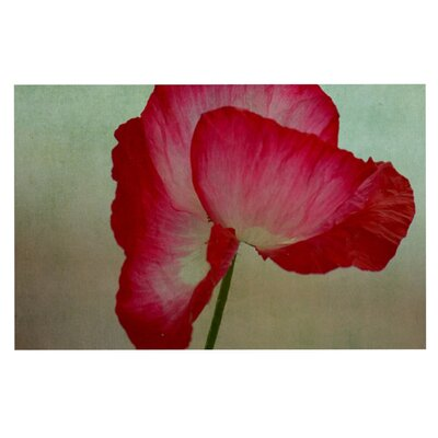 Robin Dickinson La Te Da Magenta Poppies Doormat