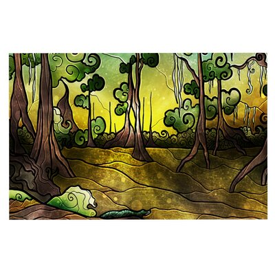 Mandie Manzano Aligator Swamp Doormat