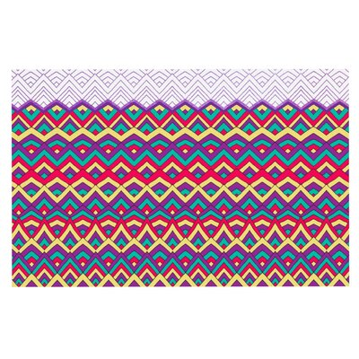 Pom Graphic Design Horizons Doormat Color: Purple