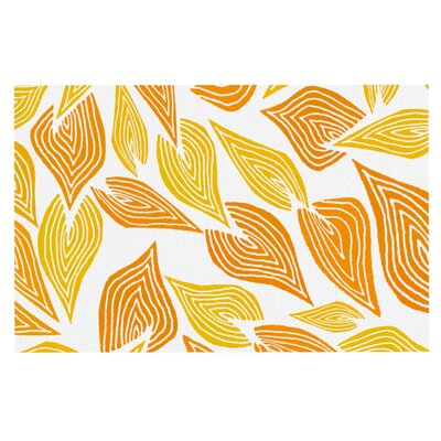 Pom Graphic Design Autumn Doormat Color: White