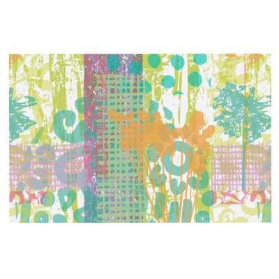 Chickaprint Dazed Pastel Splatter Decorative Doormat
