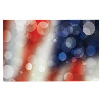 Patriot America Bokeh Doormat