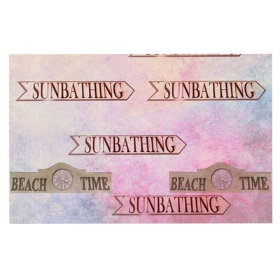 Marianna Tankelevich Beach Time Doormat