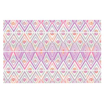 Pom Graphic Design Soft Petal Tribal Doormat