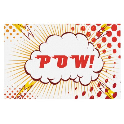 POW!' Cartoon Doormat