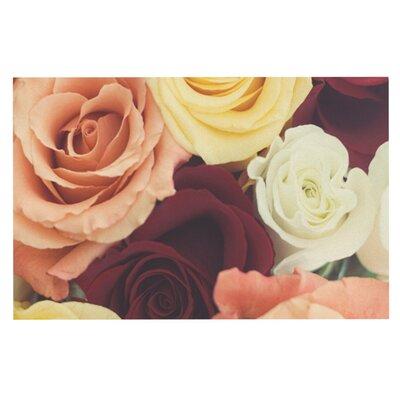 Libertad Leal Vintage Roses Doormat