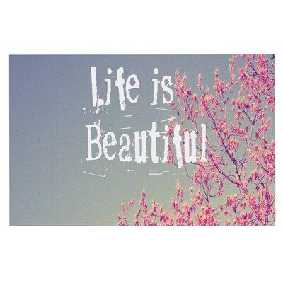 Rachel Burbee Life is Beautiful Doormat