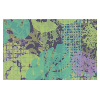 Chickaprint Verdure Collage Decorative Doormat