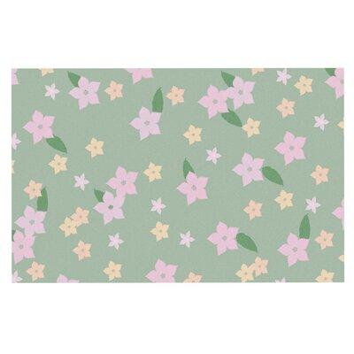 Spring Floral Doormat