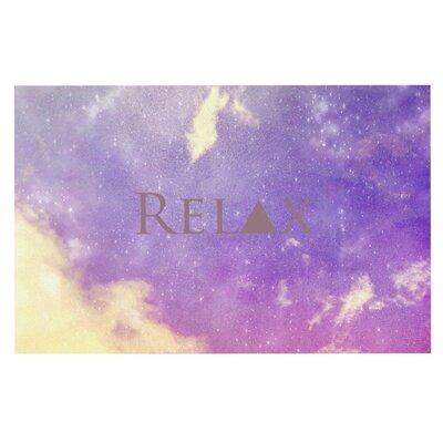 Rachel Burbee 'Relax' Doormat