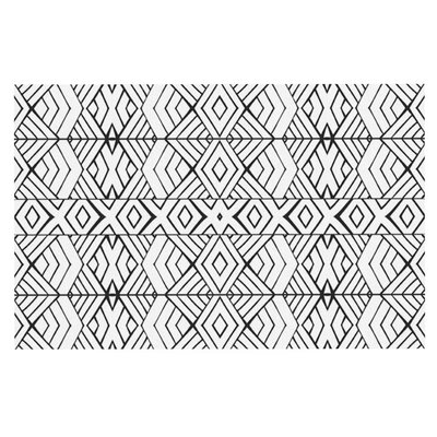 Pom Graphic Design Tribal Expression Doormat