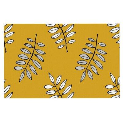 Laurie Baars Pagoda Leaf Leaves Doormat