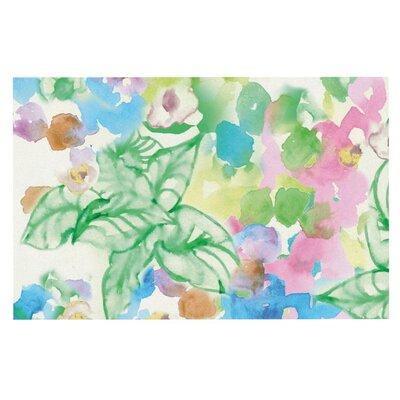 Sonal Nathwani Leaf Bouquet Doormat