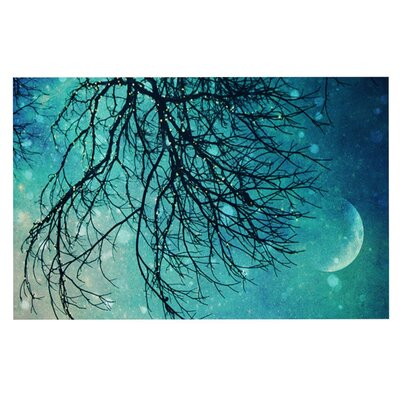 Sylvia Cook Winter Moon Doormat