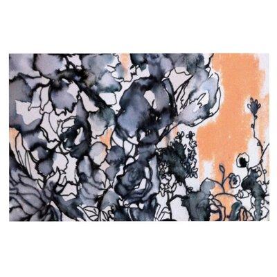 Sonal Nathwani Inky Bouquet Doormat