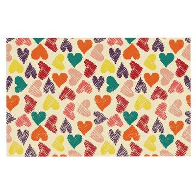 Louise Machado Little Hearts Doormat