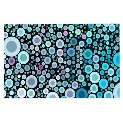Sylvia Cook Aquatic Circles Doormat