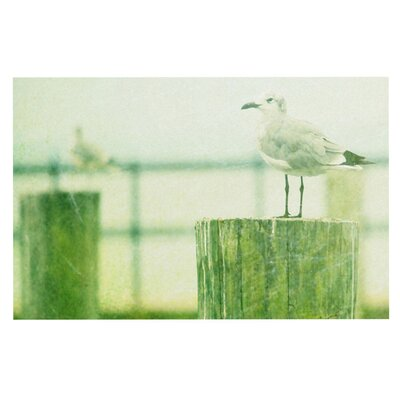 Robin Dickinson Sweetest Hours Seagull Doormat