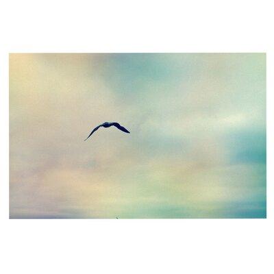 Sylvia Cook Freedom Birds Sky Doormat