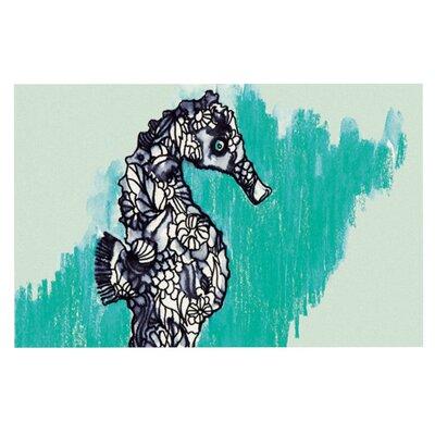 Sonal Nathwani Seahorse Doormat