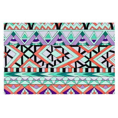 Pom Graphic Design Tribal Invasion Abstract Doormat