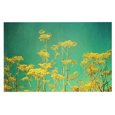 Sylvia Cook Flowers Sky Doormat