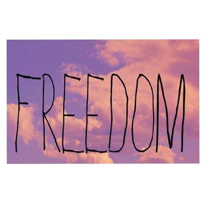 Rachel Burbee Freedom Doormat