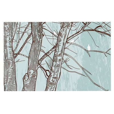 Sam Posnick Winter Trees Doormat