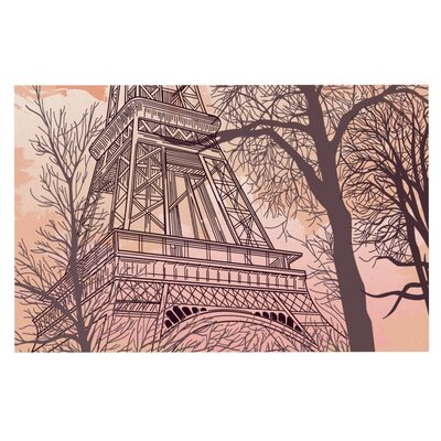 Sam Posnick Eiffel Tower Doormat