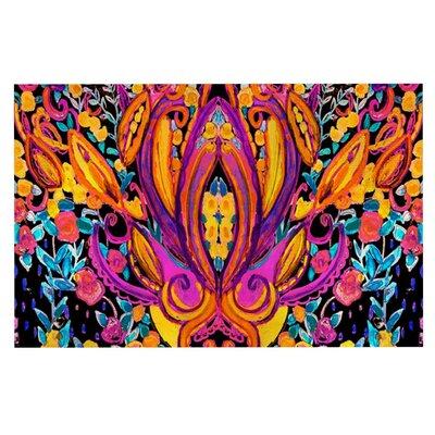 Nikki Strange Paisley Garden Wam Doormat