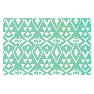 Pom Graphic Design Ancient Tribe Seafoam Doormat