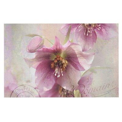 Sylvia Cook 'Hellabore' Petals Doormat