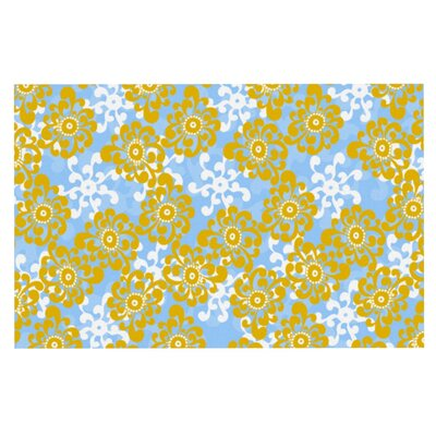 Nandita Singh and Flowers Alternate Floral Doormat