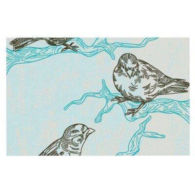 Sam Posnick Birds in Trees Doormat