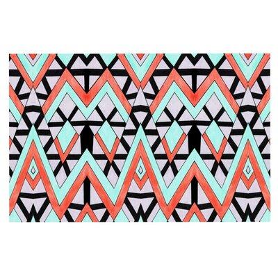Pom Graphic Design Geometric Mountains Doormat