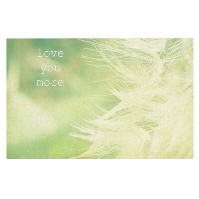Robin Dickinson Love You More Doormat
