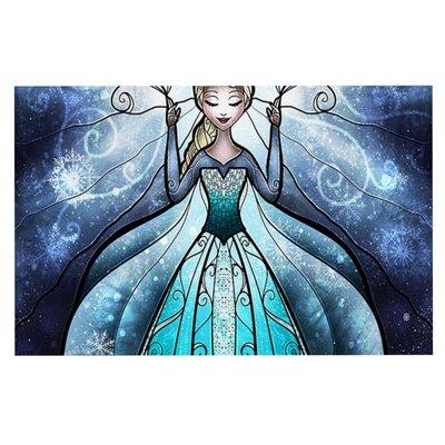 Mandie Manzano The Snow Queen Frozen Doormat