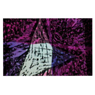Theresa Giolzetti Family Doormat Color: Pink/Purple