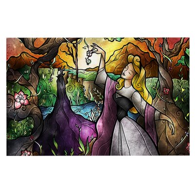 Mandie Manzano I Know You Fairytale Forest Doormat