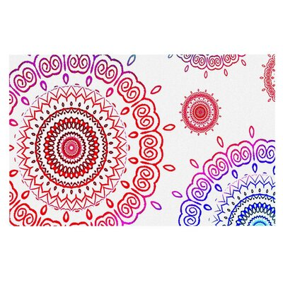 Monika Strigel Rainbow Infinity Doormat