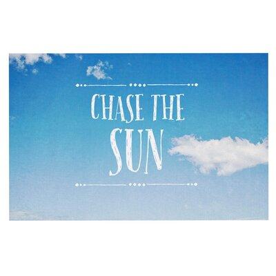 Susannah Tucke Chase the Sun Beach Sky Doormat