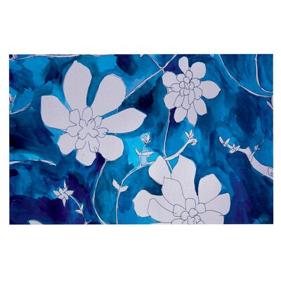 Theresa Giolzetti Succulent Dance Doormat Color: Blue