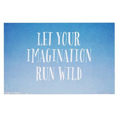 Susannah Tucke Let Your Imagination Run Wild Ocean Doormat
