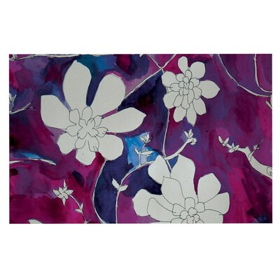 Theresa Giolzetti Succulent Dance Doormat Color: Pink