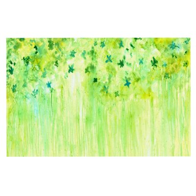 Rosie April Showers Lime Doormat