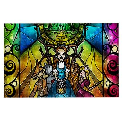Mandie Manzano Wizard of Oz Fantasy Doormat